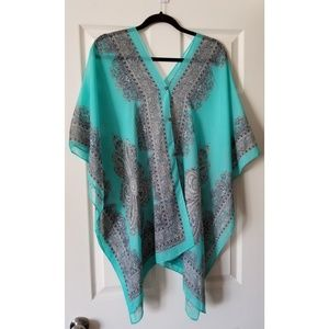 Other - Turquoise Swimsuit Cover-up